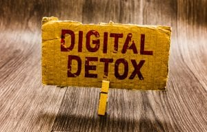 Take a digital detox, digital de-tech and eDiet